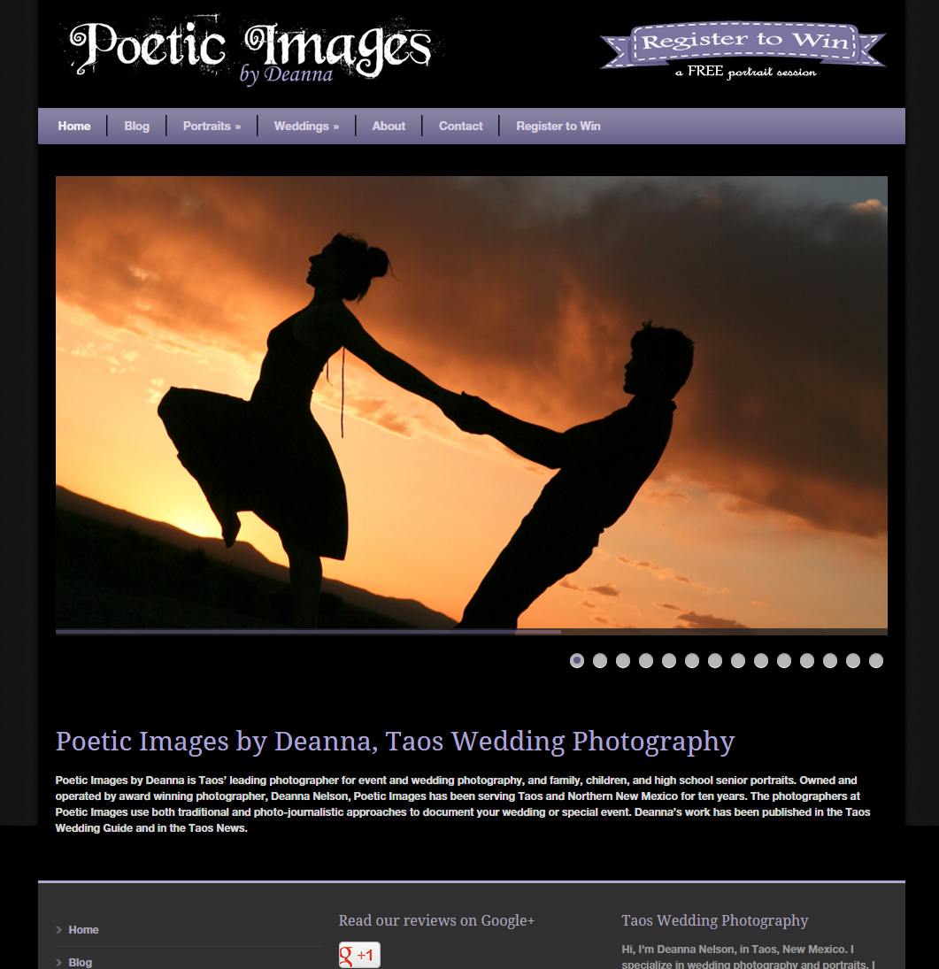 Poetic Images Website