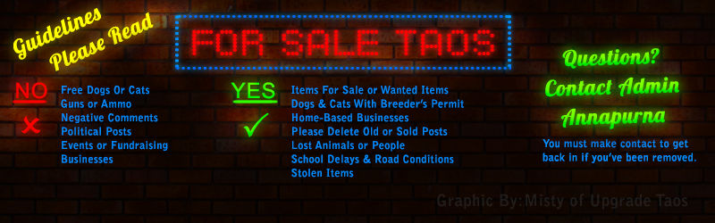 For Sale Taos Facebook Banner