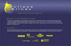 Eclipse Blinds Taos