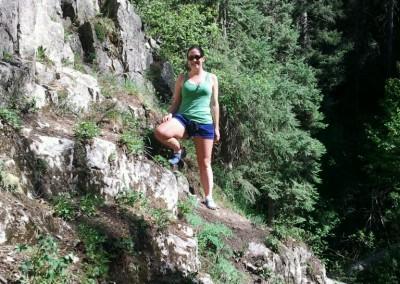 hiking at Italianos Canyon