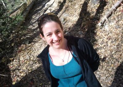 hiking at Yerba Canyon