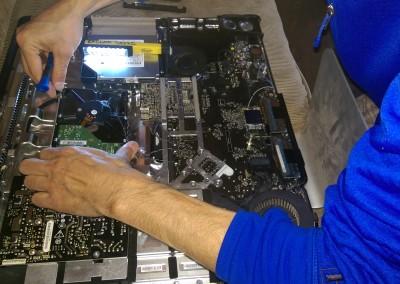 fixing an iMac