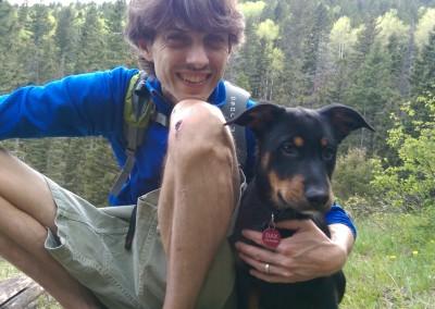 loves his doggie